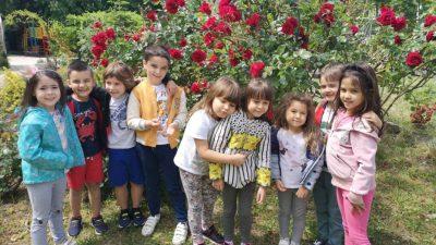 Как премина първият ден от приема на децата в ЧДГ на 22 май 2020 г. в снимки