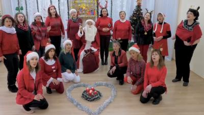 """Весела Коледа и успешна 2021 година от частна немска детска градина """"Веда"""""""